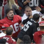 Violence erupts at an NFL game