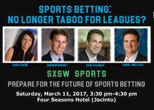SXSW Sports Betting Panel
