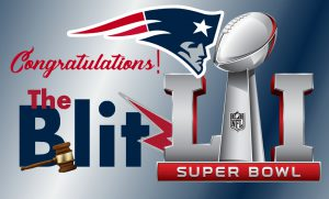 Congratulations New England Patriots from The Blitz