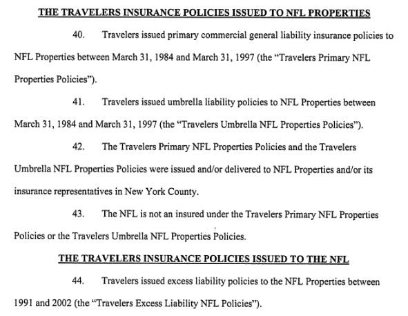 NFL not an insured
