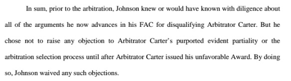 Johnson - NFLPA-vacate2