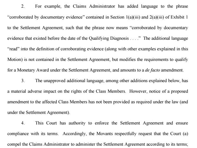 de facto amendment