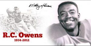 R. C. Owens - Header