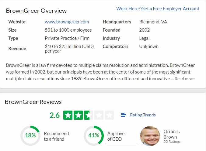 FAQ 74-BrownGreer-glassdoor