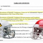 Lewis v Chiefs, Cardinals