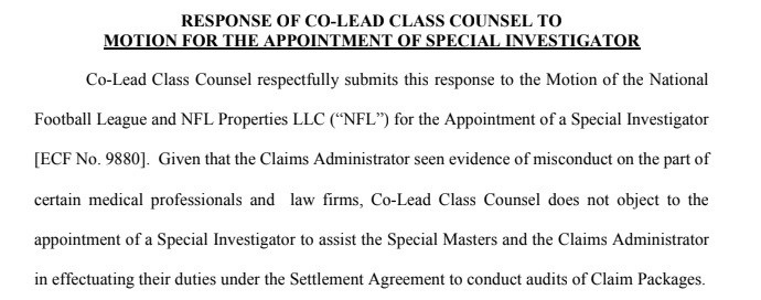 Response of Co-Lead Class Counsel