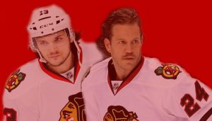 Daniel Carcillo and Nick Boynton