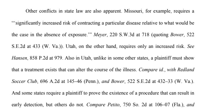 State Law Conflicts