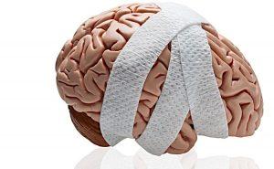 bandaged brain