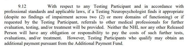 9-12 Additional Testing