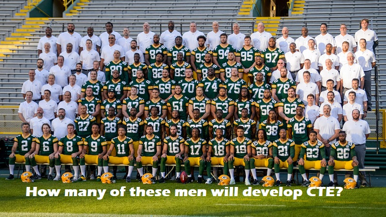How many of these men will develop CTE?
