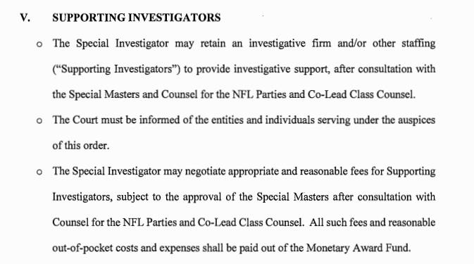 additional investigators