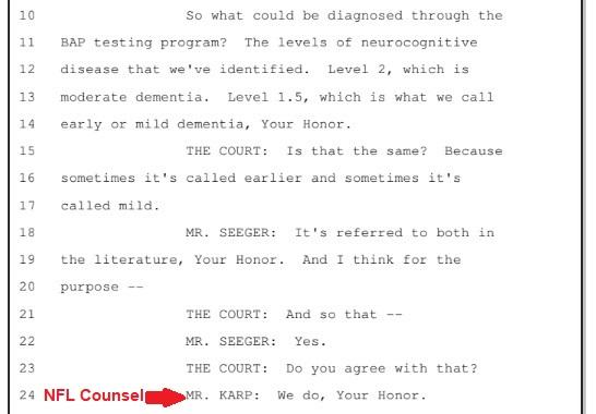 Excerpt from Fairness Hearing transcript