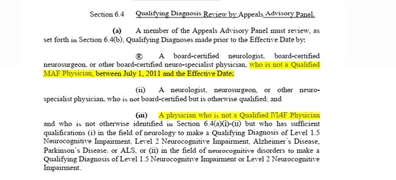 Settlement role of AAP