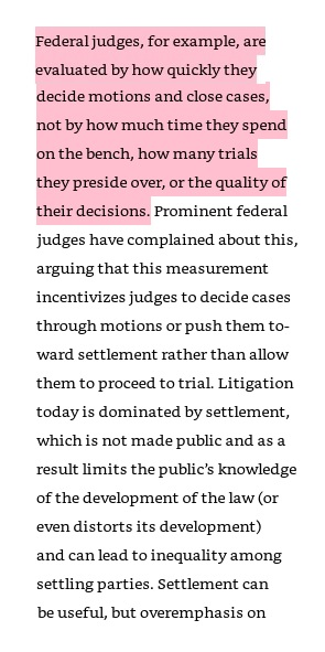 "Alexandra Lahav ""In Praise of Litigation"""