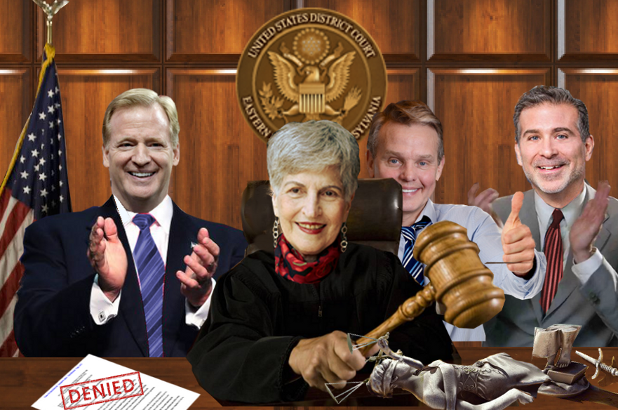 NFL Concussion Settlement - Anita Brody, Roger Goodell, Chris Seeger