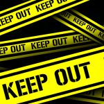 Closed hearing - Keep out