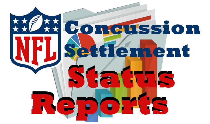 NFL Concussion Settlement Status Report