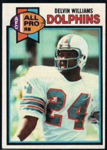 Delvin Williams football card