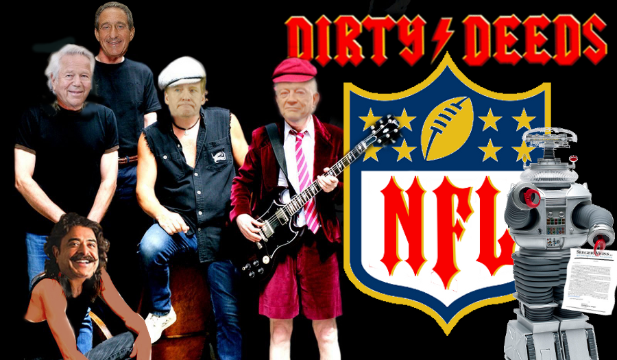 Roger Goodell NFL owners dirty deeds