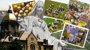 John Askin collage-Notre Dame NCAA