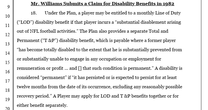 Delvin Williams complaint1