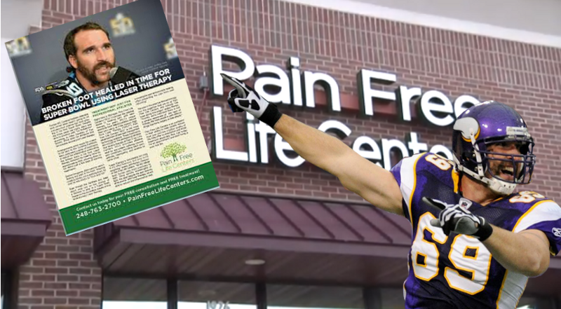 Jared Allen's NIL misappropriated by pain clinic
