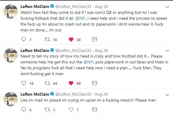 LeRon McClain twitter