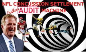 nfl concussion settlement audit roger goodell
