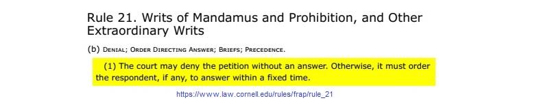 FRAP Rule 21