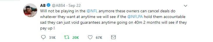 Brown retirement tweet1