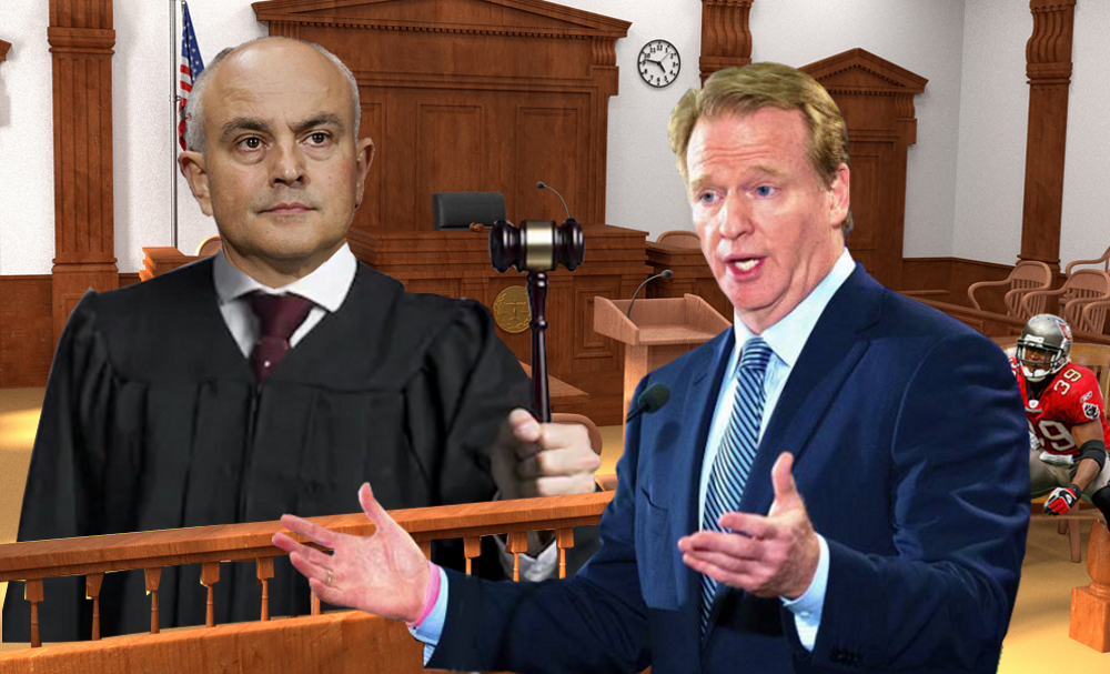 NFL, Goodell disagree with Federal Judge and deny disability benefits to Charles Dimry
