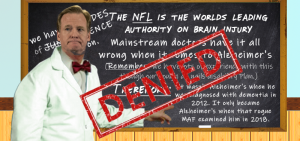 Roger Goodell the Junk Science Guy