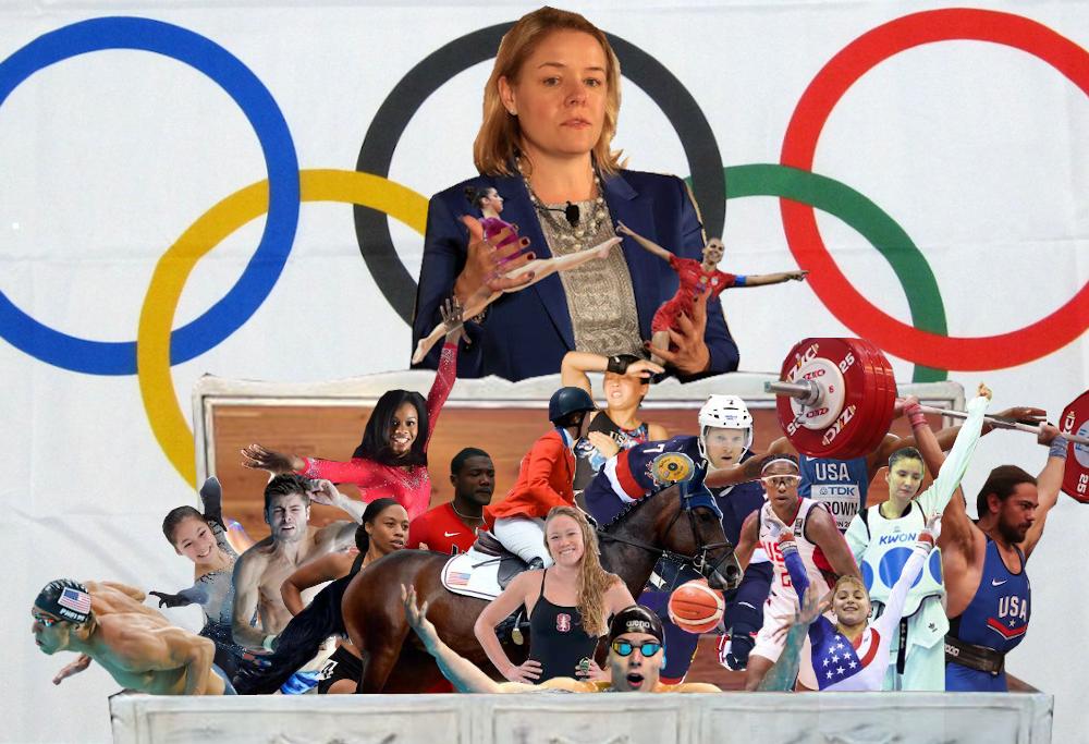 Hirshland treats Olympic athletes like toys