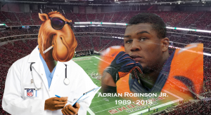 Joe Camel Style NFL Marketing Killed Adrian Robinson Jr.