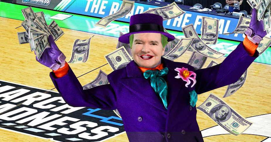 Jack Nicholson's Joker had nothing on Mark Emmert of the NCAA