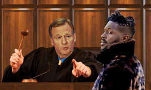 Judge Jury and Executioner Roger Goodell with Antonio Brown