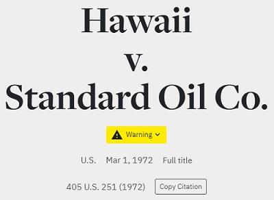 hawaii warning
