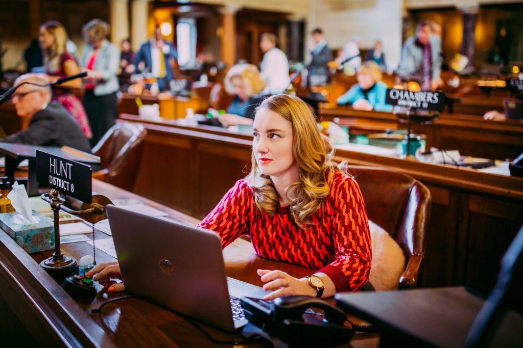 Senator Megan Hunt
