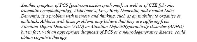 another symptom