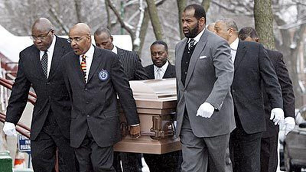 Dave Duerson funeral
