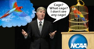 Mark Emmert's delusion