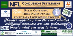 NFL Concussion Settlement Funder Rules
