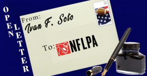 Open Letter to NFLPA From Ivan F. Soto