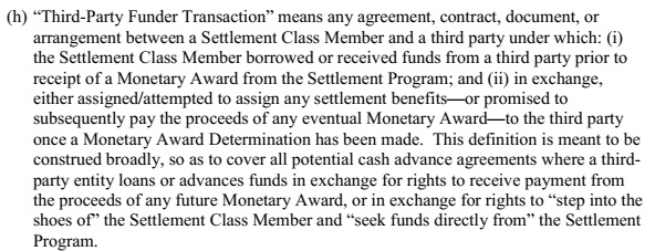 new-third party funder agreement