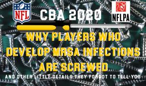 NFL NFLPA CBA MRSA