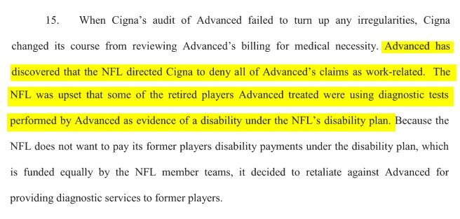 Advanced lawsuit