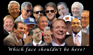 Why is DeMaurice Smith NFLPA smiling with this group