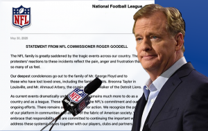 Goodell statement on George Floyd