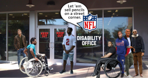 Lawsuit Seeks to Halt NFL Disability Cuts